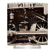 Historic Trains Shower Curtain