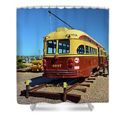 Historic Trolley Shower Curtain