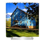 Historic Walnford Gristmill Shower Curtain