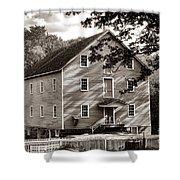 Historic Walnford Mill Shower Curtain