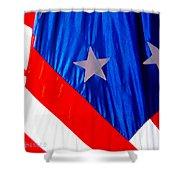 Historical American Flag Shower Curtain
