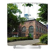 Historical Building Shower Curtain