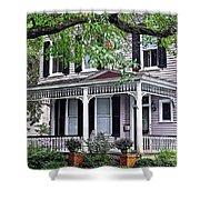 Historical Home In Wilmington Shower Curtain