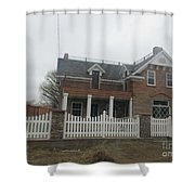 Historical House In Taylor Shower Curtain