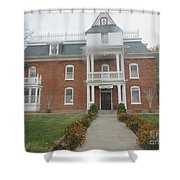 Historical Mormon House Shower Curtain