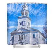 Historical Old First Church Shower Curtain