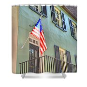 Historical Patriot Shower Curtain