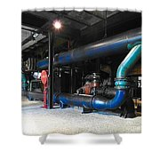 Historical Pipes Shower Curtain