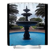 Historical Saint Marys Water Fountain Shower Curtain