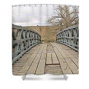 History Bridge Shower Curtain