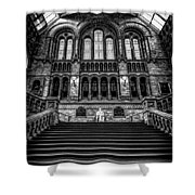 History Museum London Shower Curtain by Adrian Evans