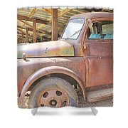History On Wheels Shower Curtain