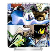 History This Week Shower Curtain