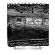 History Train Shower Curtain