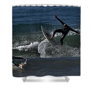 Hit The Brakes Shower Curtain