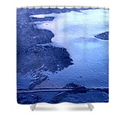 Hit The Pavement Shower Curtain