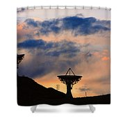 Hitech Sunset Shower Curtain