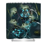 Hive Shower Curtain