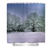 Hiver Shower Curtain