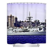 Hmas Darwin Ffg 04 Shower Curtain