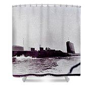 Hmas Onslow History Shower Curtain