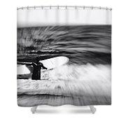 Hmmm Shower Curtain by Ben Shields