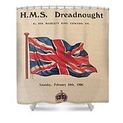 Hms  Dreadnought Shower Curtain