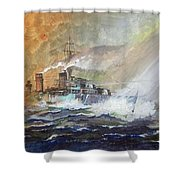 Hms Duncan Shower Curtain
