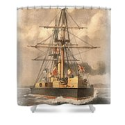 Hms Inflexible Shower Curtain
