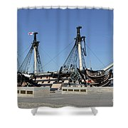 Hms Victory Portsmouth Shower Curtain