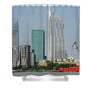 Ho Chi Minh City 1 Shower Curtain