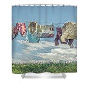 Hobbit Clothes Shower Curtain