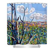 Hockley Valley Shower Curtain