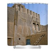 Hofuf Alley Shower Curtain