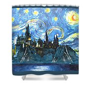 Harry Potter Starry Night Shower Curtain