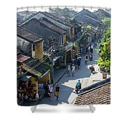Hoi An Rooftops 02 Shower Curtain