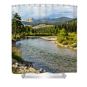 Holback River Shower Curtain