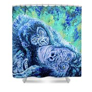 Hold Me Close Shower Curtain