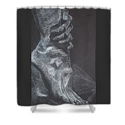 Hold Shower Curtain