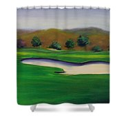 Hole 1 Great Beginnings Shower Curtain