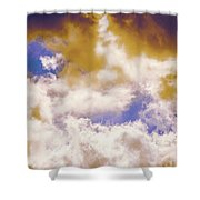 Hole In The Cloud Shower Curtain