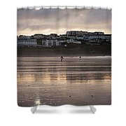 Hole In The Clouds Shower Curtain
