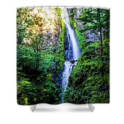 Hole In The Wall Falls Shower Curtain