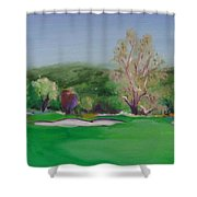 Hole12 Ohlone Ridge Shower Curtain