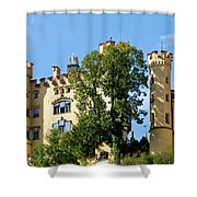 Holenschwangau Castle 2 Shower Curtain