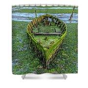 Holes Bay - England Shower Curtain