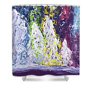 Holiday Blanket Shower Curtain