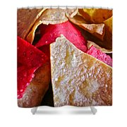 Holiday Chips Shower Curtain