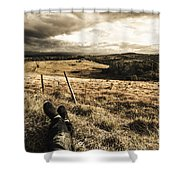 Holiday In Tasmania Shower Curtain