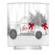 Holiday Joy Chesilhurst Farm Shower Curtain